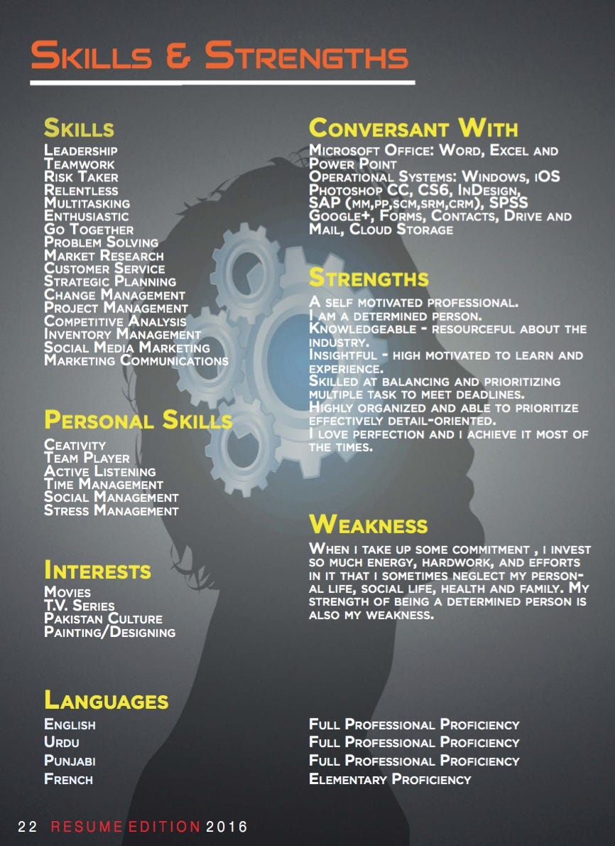 Reader Email - Is This The Greatest Resume Of All Time Or The ...