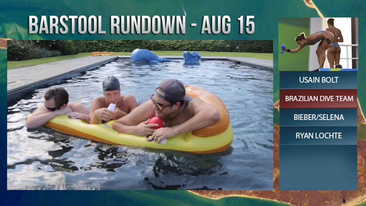 Barstool Rundown August 15th, 2016 - Barstool Sports