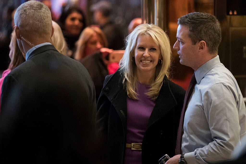 Monica Crowley Porn Days - President-Elect Donald Trump Holds Meetings At Trump Tower