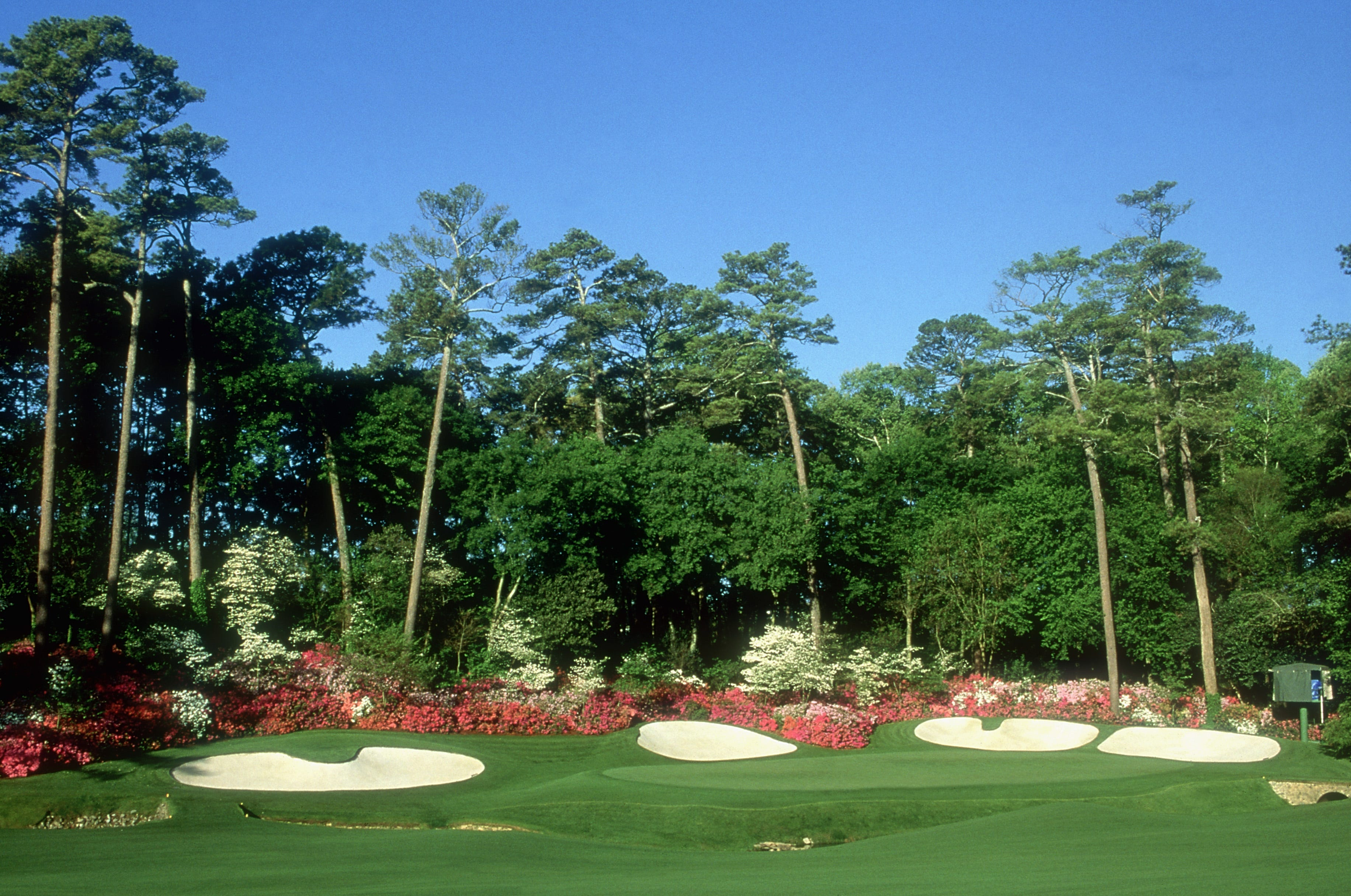 General view of the 13th hole